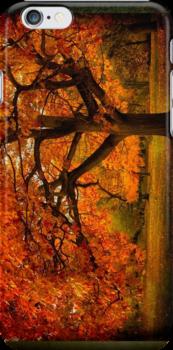 Red Oak Tree by LudaNayvelt