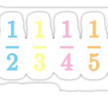 Elements of Harmony Math Shirt (MLP) Sticker