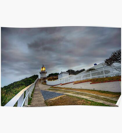 Smokey Cape Lighthouse. Poster