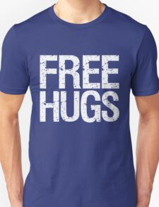 Free Hugs (White) Unisex T-Shirt