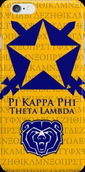 Pi Kappa Phi i-Phone case by Cc0907