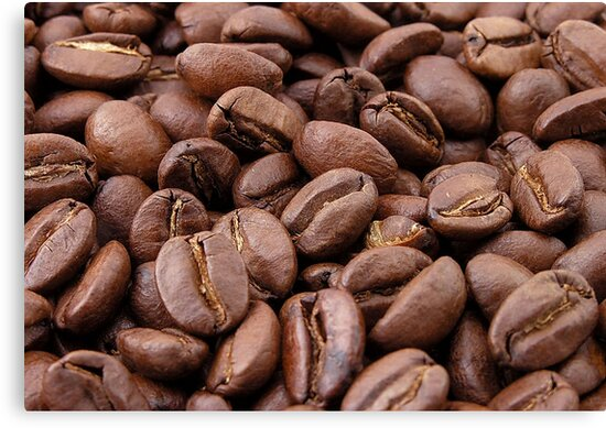 Roasted Coffee Beans by taiche