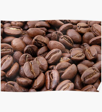 Roasted Coffee Beans Poster