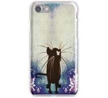 Silhouette Ratty iPhone Case/Skin