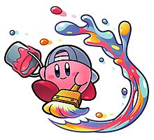 Painting Kirby Photographic Print