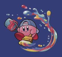 Painting Kirby by Louis Law