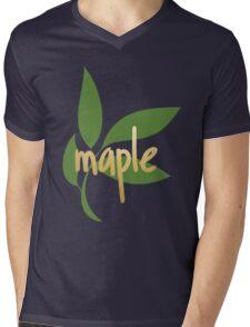 TK Alum Maple Mens V-Neck T-Shirt