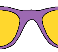 Retro SunGlasses Sticker