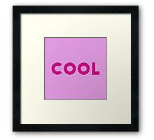 Grenda Cool Shirt Framed Print