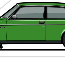 Volvo 242 Brick Coupe 200 Series Green Sticker