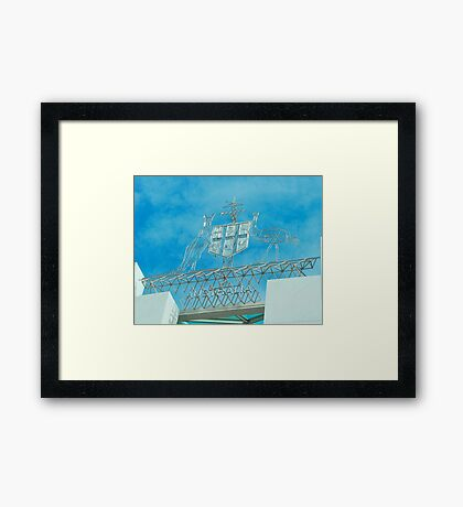Aussie Coat of Arms Framed Print