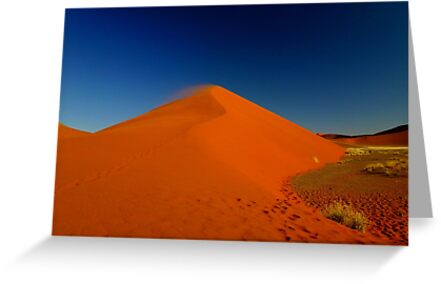 the red sand dune by supergold