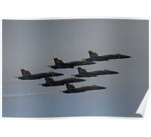 2012 Blue Angels in San Francisco Poster