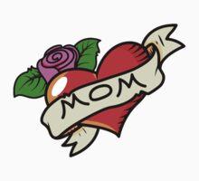 Funny mom tattoo Kids Tee