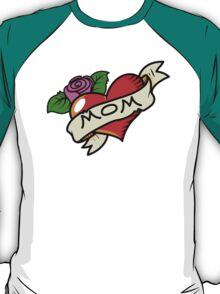 Funny mom tattoo T-Shirt