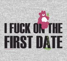 FIRST DATE TEE SHIRT !!!! by homopunkdotcom