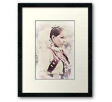 Native Beauty Framed Print