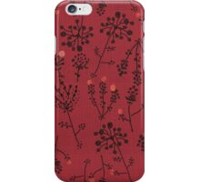 Thistle Spice iPhone Case/Skin