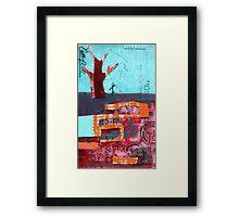 the fire Framed Print