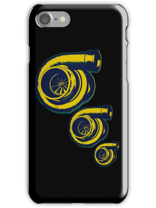 3 Turbo IPhone/IPod Case by Jessicabritton