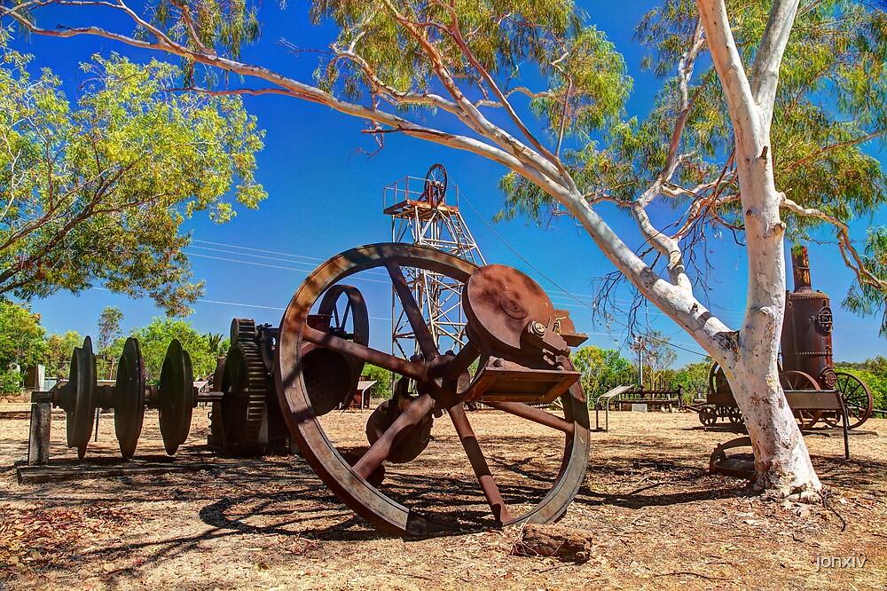 """""""Pine Creek Mine Display"""" by jonxiv"""