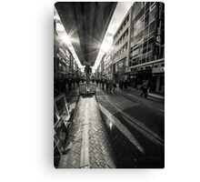 Reflection at the Hohestrasse Canvas Print