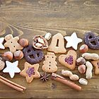 Cookies, Nuts & Spices for Christmas by Barbara Neveu