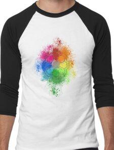 Rainbow Badge Men's Baseball ¾ T-Shirt