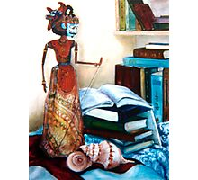 Still Life with Puppet Photographic Print