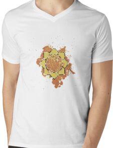 Thunder Badge Mens V-Neck T-Shirt