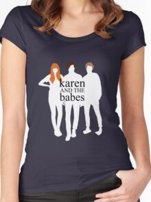 Karen and the Babes Women's Fitted Scoop T-Shirt
