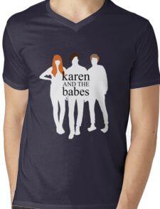 Karen and the Babes Mens V-Neck T-Shirt