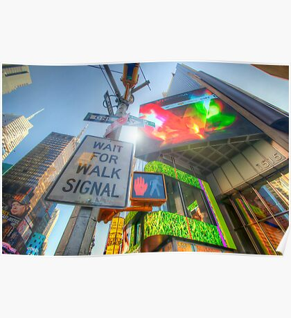 NYC Street Signs Poster