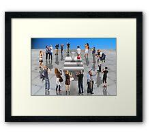 Photographers Framed Print