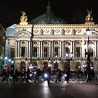 Paris Opera - Palais Garnier at Night by Mark Tisdale