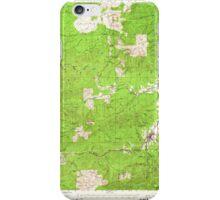 USGS Topo Map Washington State WA Pe Ell 243106 1953 62500 iPhone Case/Skin