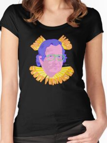 PARTY CHOMSKY Women's Fitted Scoop T-Shirt