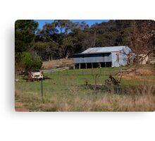 Life On the Land Australia Canvas Print