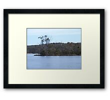 the weight of water Framed Print