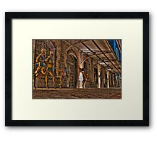 Sport house Framed Print
