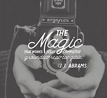 JJ Abrams - Magic Quote by doxcreative