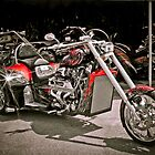 Custom V8 Trike-Bad to the Bone & fast too! by David Owens