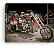 Custom V8 Trike-Bad to the Bone & fast too! Canvas Print