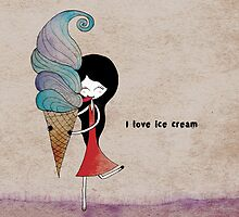 I love ice cream by Nadine Feghaly