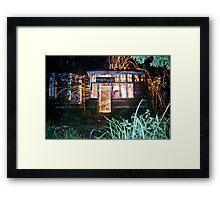 Wirewool Spinning, Clawdd Farm Framed Print