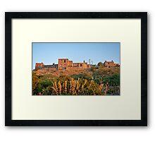 Historical Stone Houses At Behramkale  / ASSOS – Turkey Framed Print