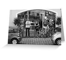 Smalltown Street Scene Greeting Card