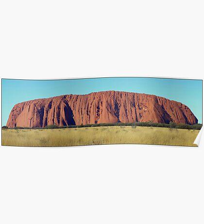 Uluru Panorama Poster