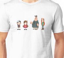 8 Bit Gravity Falls Unisex T-Shirt