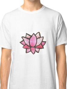 watercolor lotus Classic T-Shirt